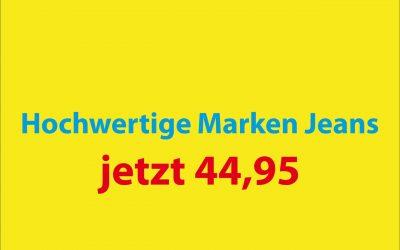 Hochwertige Marken Jeans Reduziert!